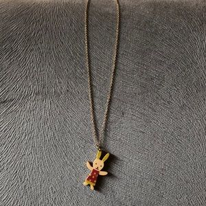 Jewelry - Wooden Charm Necklace